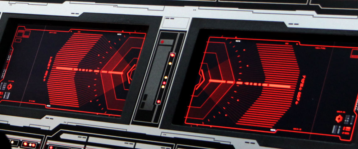 Star Wars The Force Awakens futuristic interface design