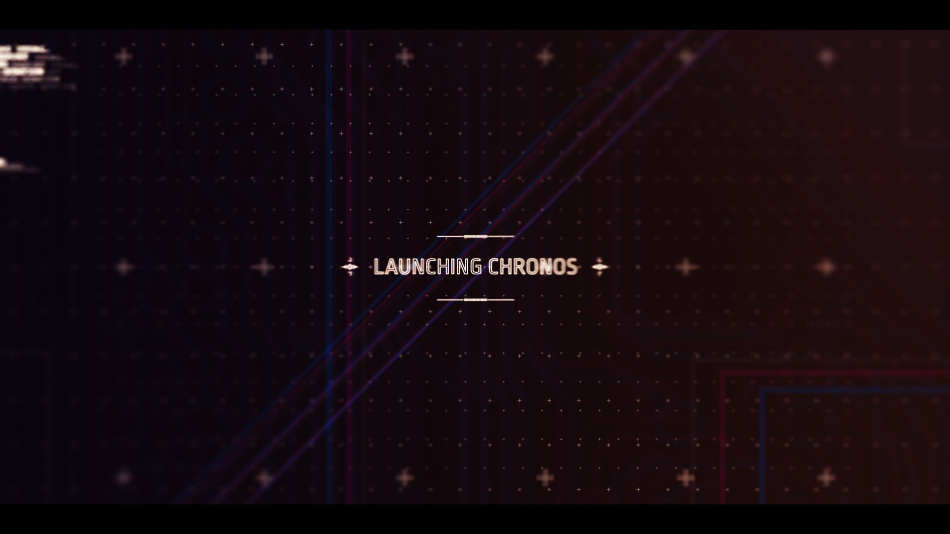 sci-fi interface chronos launch