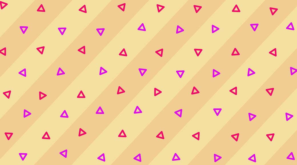 Triangle shape background after effects